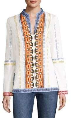 b2f1b2c61ac Tory Burch Stephanie Cotton Tunic | Tops & Tunics | Cotton tunics ...