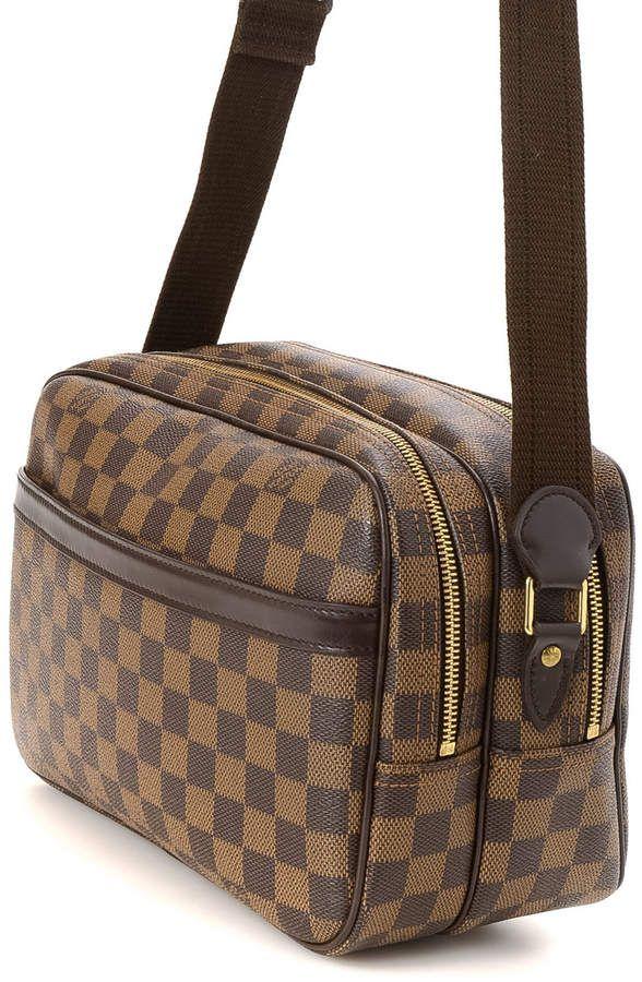 bfff5f742 Louis Vuitton Reporter PM Damier Ebene Crossbody - Vintage #Reporter #PM#Louis