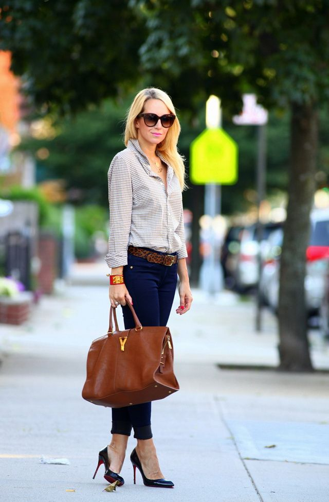Business Attire: Women's Jeans For Office Work 2019 Fashiongum.com