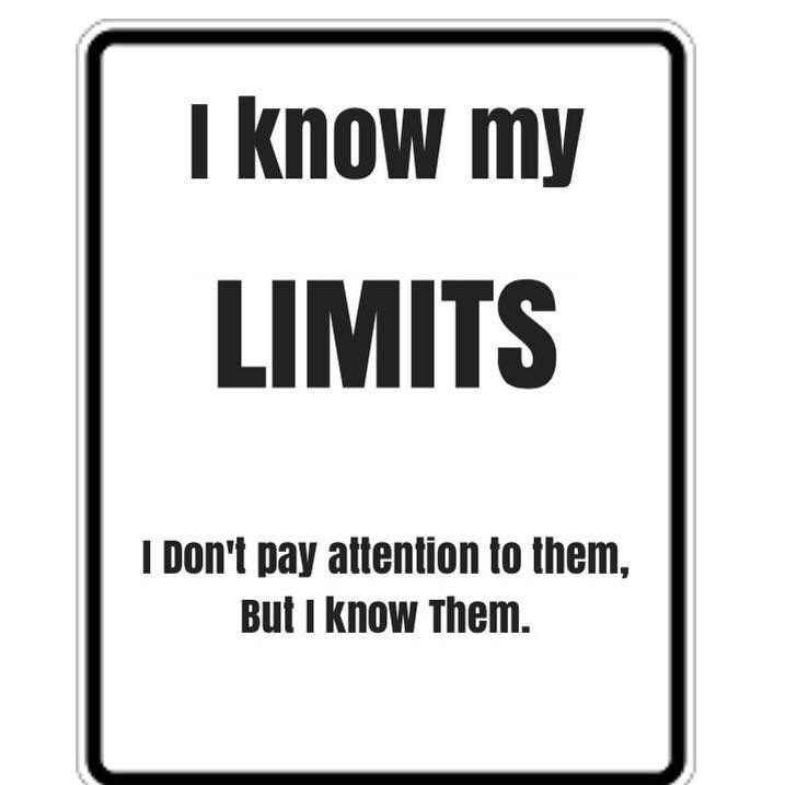 Note: For your own sake, try to pay a little attention to them.>>don't tell me how to live my life