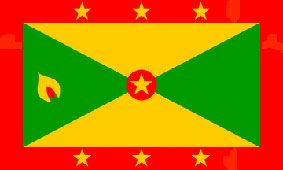 Grenada/Granadian Flag 5ft x 3ft (100% Polyester) With Eyelets For Hanging. http://www.novelties-direct.co.uk/grenada-flag-5ft-x-3ft-100-polyester-with-eyelets-for-hanging.html