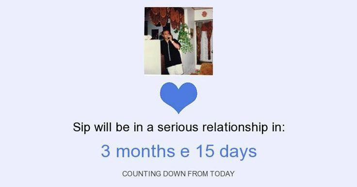BigTests.Club - EN - How long it takes for you to be in a serious relationship?