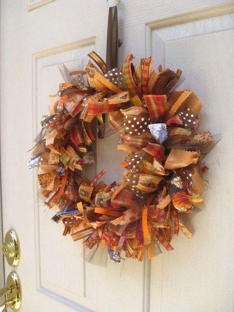 LOVE this Ribbon wreath! @Shilo Johnson @Teisha Tippetts Umberger @Lyndsy Tippetts @Alisha Jensen