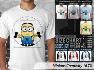 Kaos Film Minions Couple, Kaos Minions Anak-anak