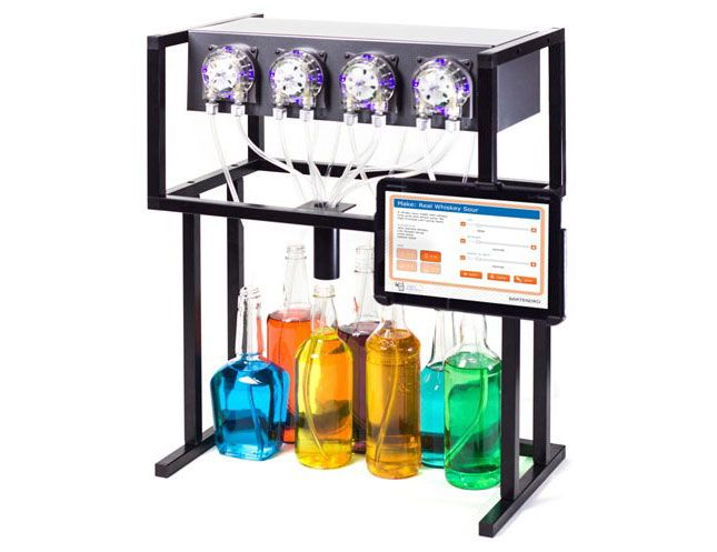 Bartendro: A Cocktail Dispensing Robot via Brit + Co