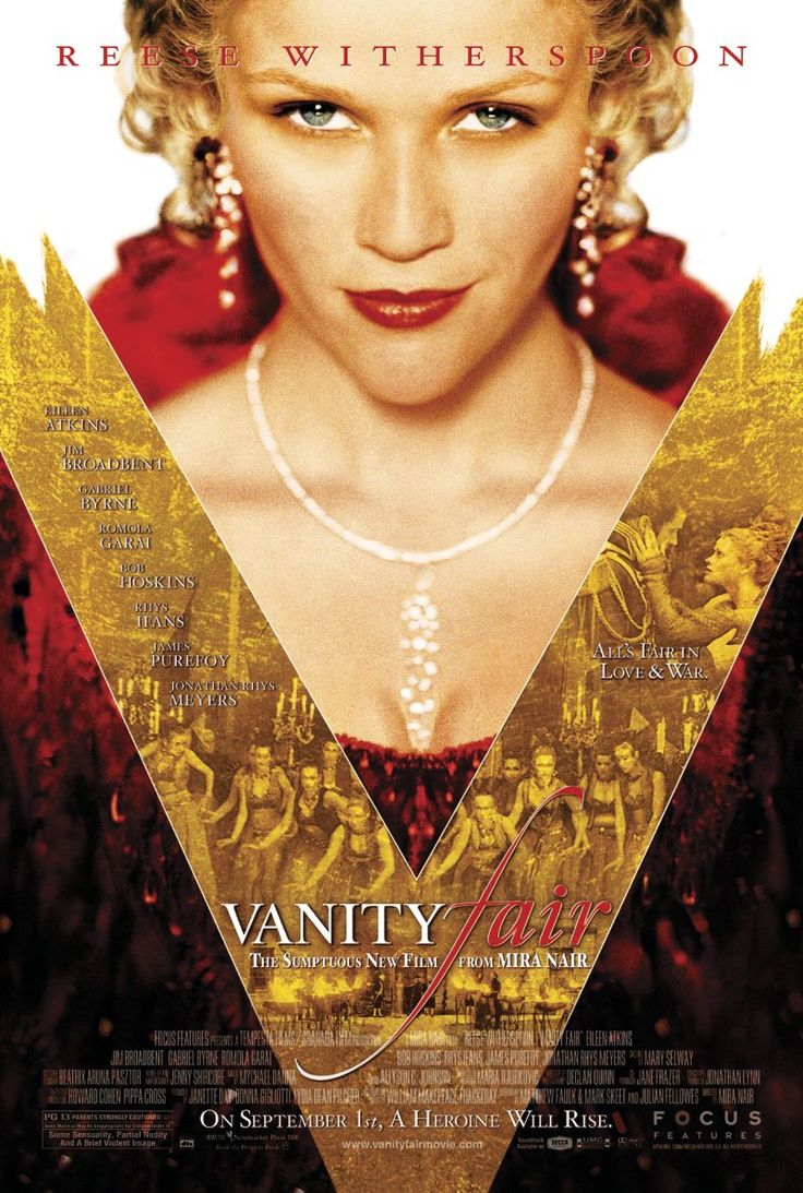 Vanity Fair (Mira Nair) / HU DVD 1919 / http://catalog.wrlc.org/cgi-bin/Pwebrecon.cgi?BBID=6591897