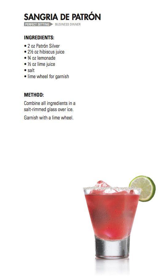 SANGRIA   Patrón Tequila