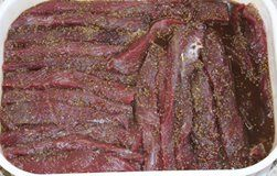 awesome Beef and Game Biltong Recipe Stefaans Blaauw is from Windhoek Namibia and is well known in South Africa for his AWESOME biltong. We asked Stephan Blaauw: What tipe of meat do you use? My own taste... First Topside, then Rump, and then Silverside. This is how we made Biltong for generations and still is the number one recipe! Hope you'll enjoy this recipe. https://www.sapromo.com/beef-and-game-biltong-recipe/10454