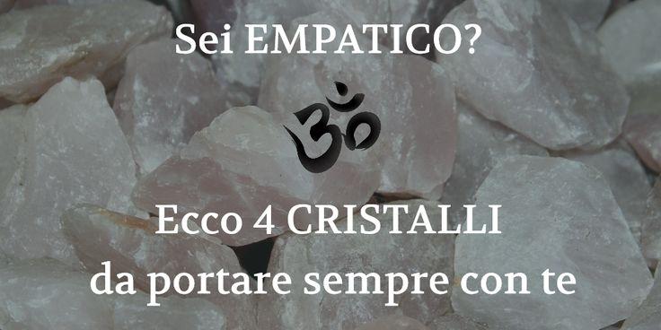 L'empatia è un bel dono spirituale, anche se fa sentire in modo amplificato tutte le emozioni e il dolore fisico con cui si entra in contat...