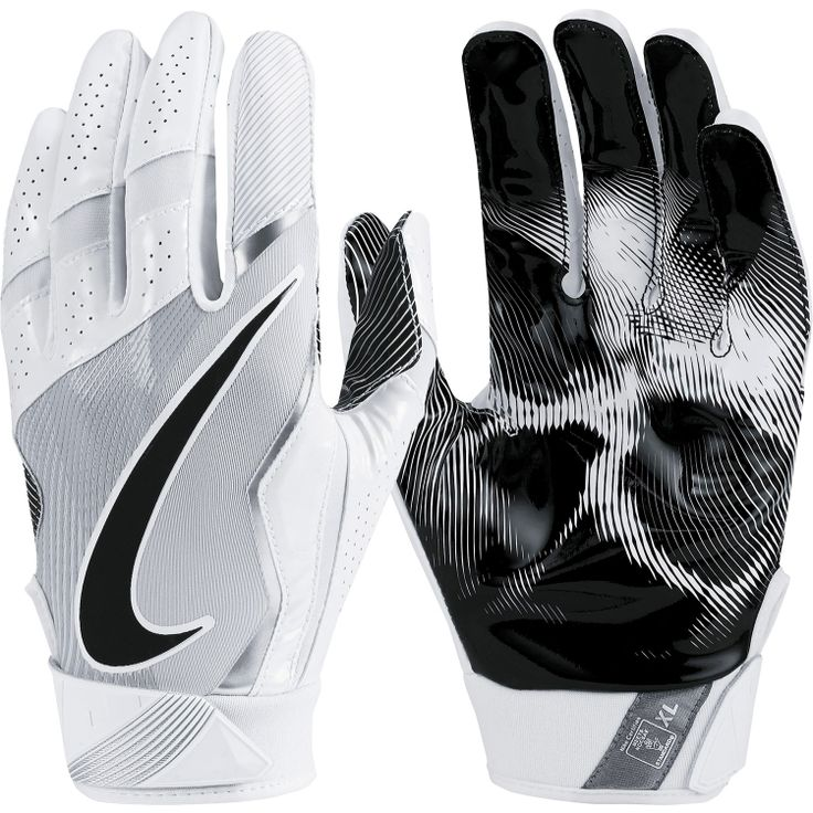 Nike Vapor Jet 4.0 Receiver Gloves (White / Black)