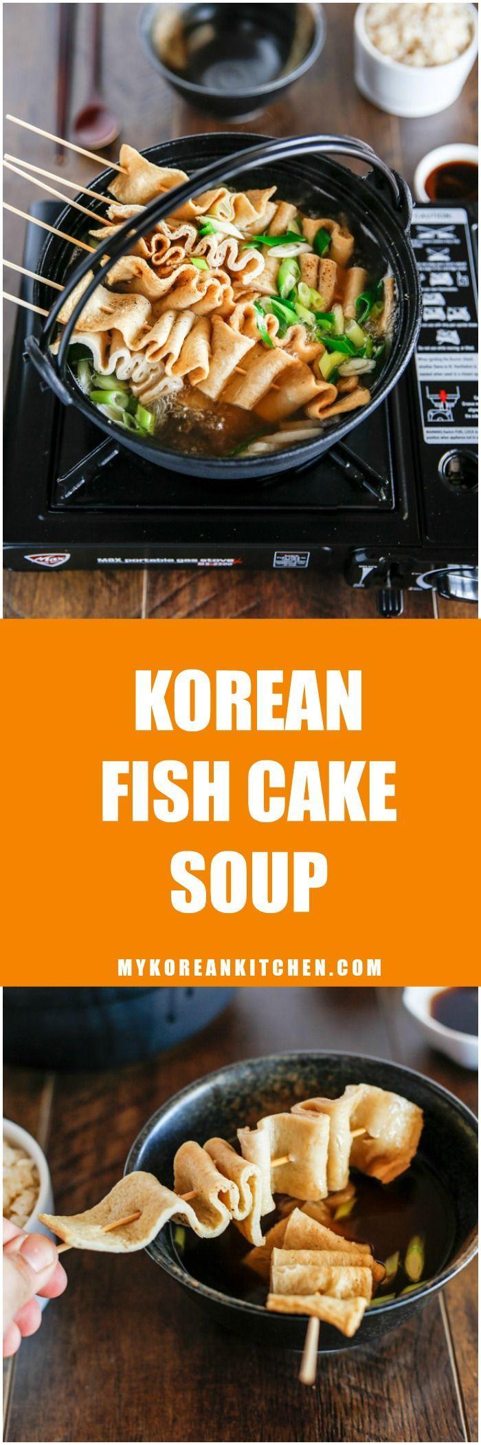 Korean Fish Cake Soup | MyKoreanKitchen.com