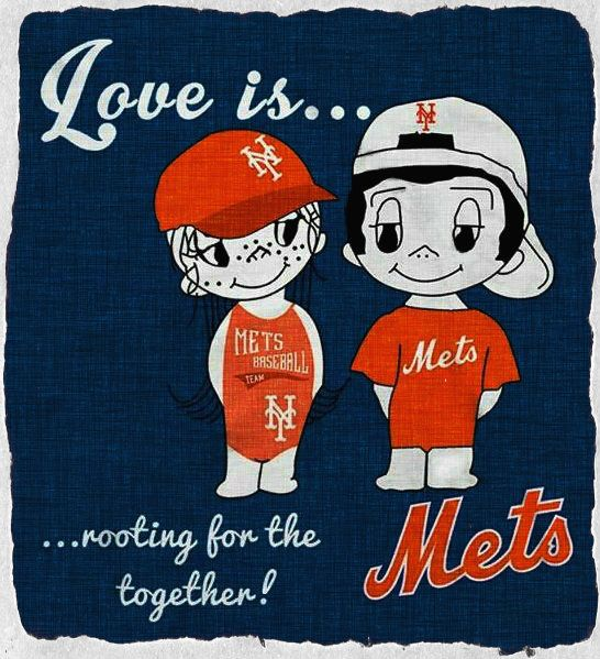 Love Is Rooting For The Mets Together!