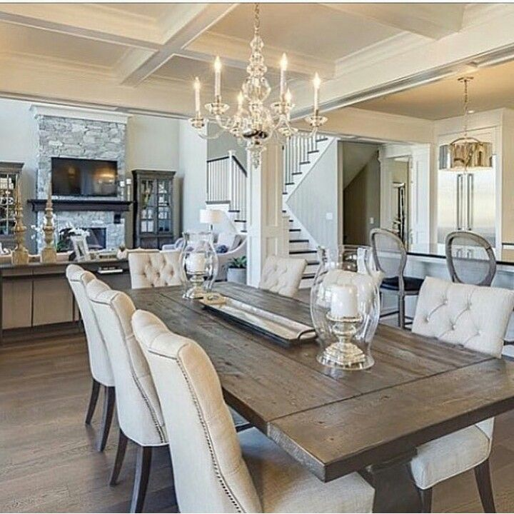 Kitchen Dining Room Open Concept: Open Layout, Open Concept House Plans And Open