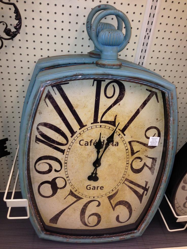 Hobby lobby clock for the office clock farmhouse decor