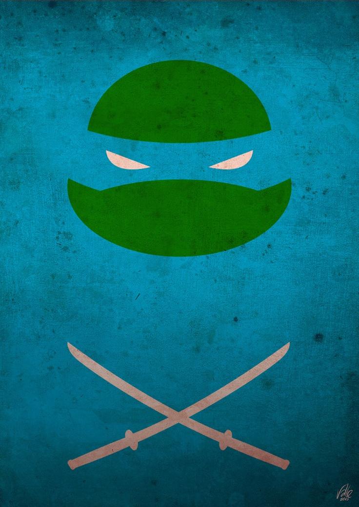 TMNT - Leo poster
