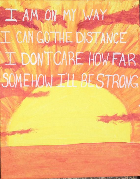18 x 20 Hercules Quote Canvas by TheLoveOfCanvas on Etsy