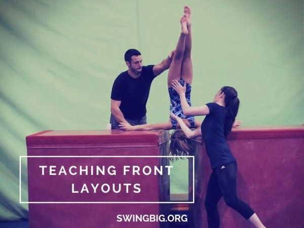 Front layout drills | Swing Big!