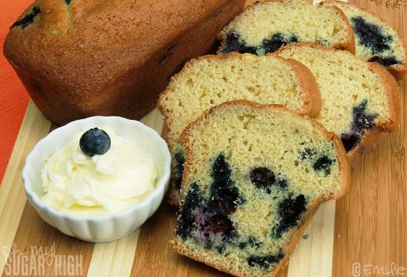 Blueberry Orange Bread 3. | Rolls and Breads | Pinterest