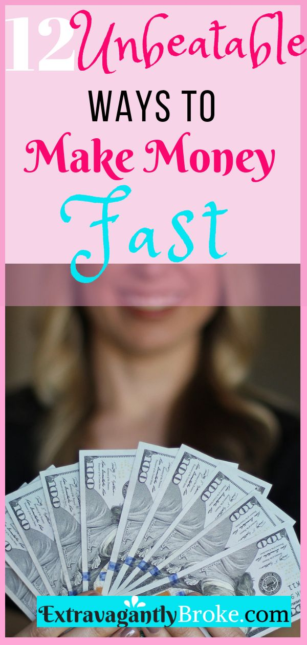 Get cash in your hands fast without waiting on a paycheck! How to make money Qui… – Extravagantly Broke