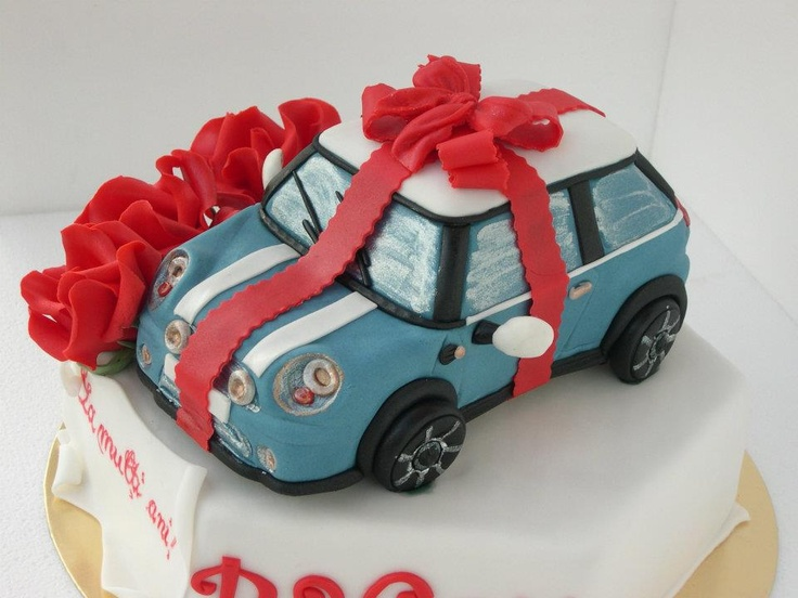 Mini Cooper Cake Cake Pinterest Kind Of What