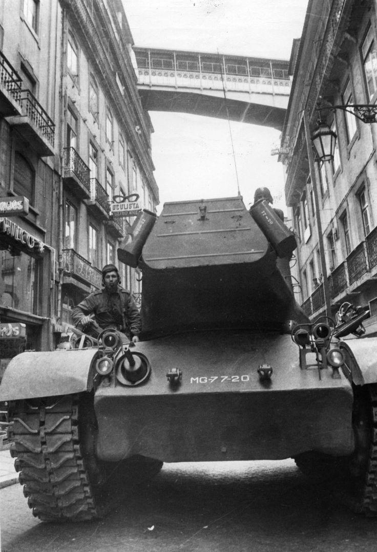 Fotografia: Arquivo Municipal de Lisboa / Jornal Diário de Notícias / Revolução de Vinte e Cinco de Abril de 1974