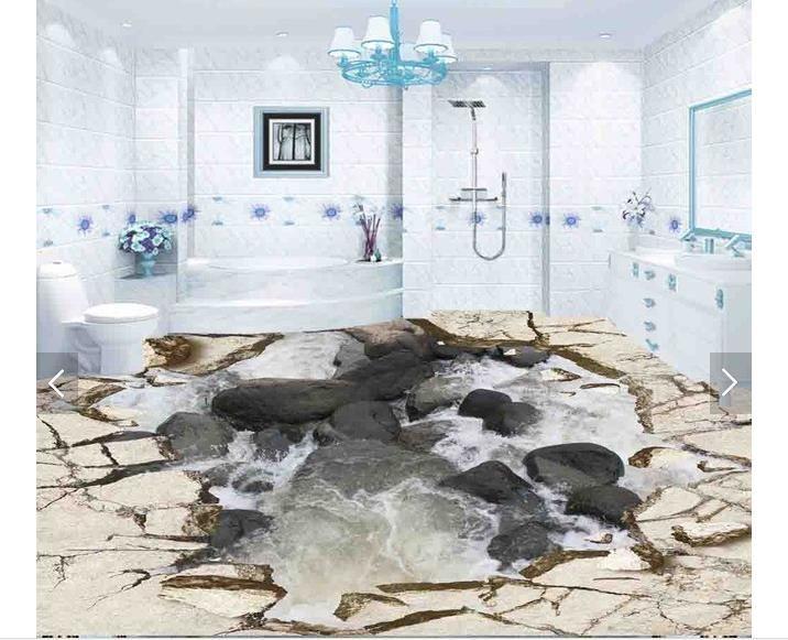 Cheap personalizado 3d foto wallpaper 3d piso pintura del - Papel pintado 3d ...