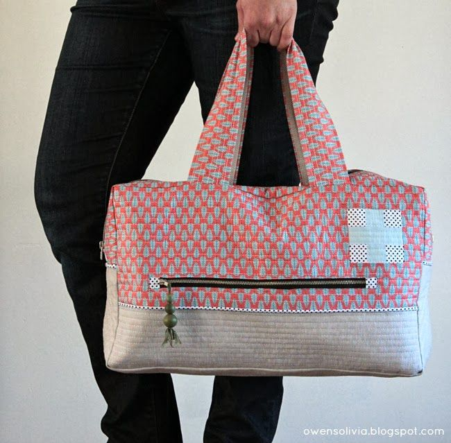 owen's olivia: Cargo Duffle || Crafty Traveler Series  FREE pattern available here: http://www.robertkaufman.com/quilting/quilts_patterns/cargo_duffle/