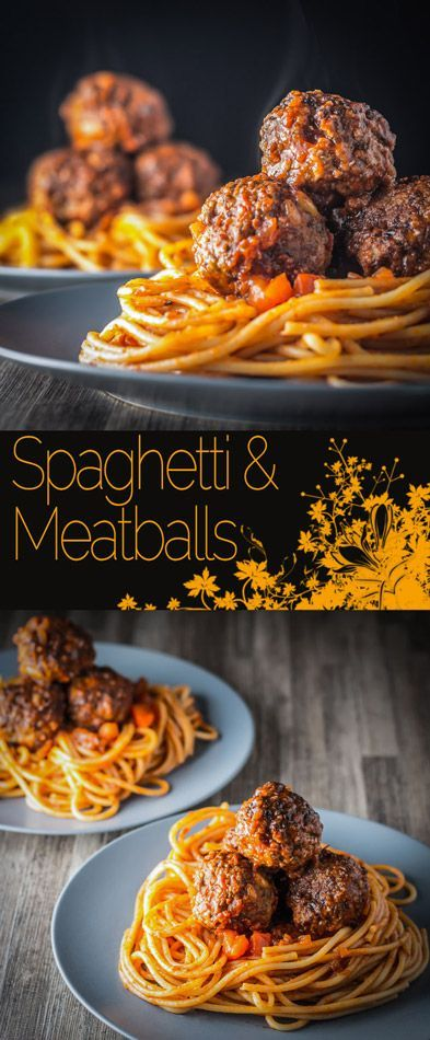 Spaghetti and Meatballs, an all time favourite that I am sure every cook has a version of, this is mine complete with pine nuts! #pasta #meatballs #spaghettiandmeatballs #recipe #recipeoftheday #heartyfood #comfortfood