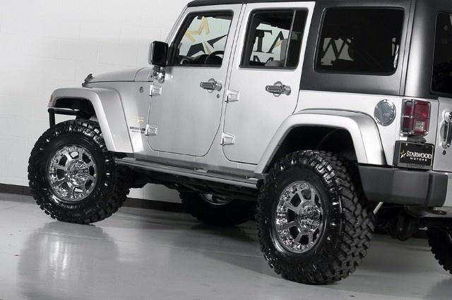 2009 Jeep Wrangler Unlimited Sahara We Finance Dallas, Texas #starwoodmotors  #jeepwrangler #silver