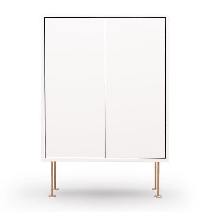 Vogue Schrank 64, Weiss Höhe:92,4 cm Breite:64 cm Tiefe:30 cm