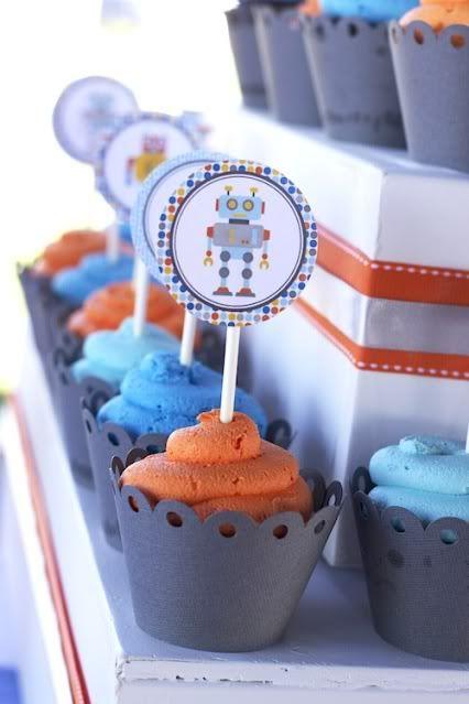 Robot Birthday Party theme!