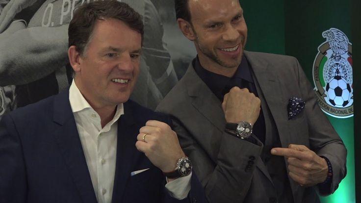 Baume & Mercier presentó el reloj de la Selección Nacional de México