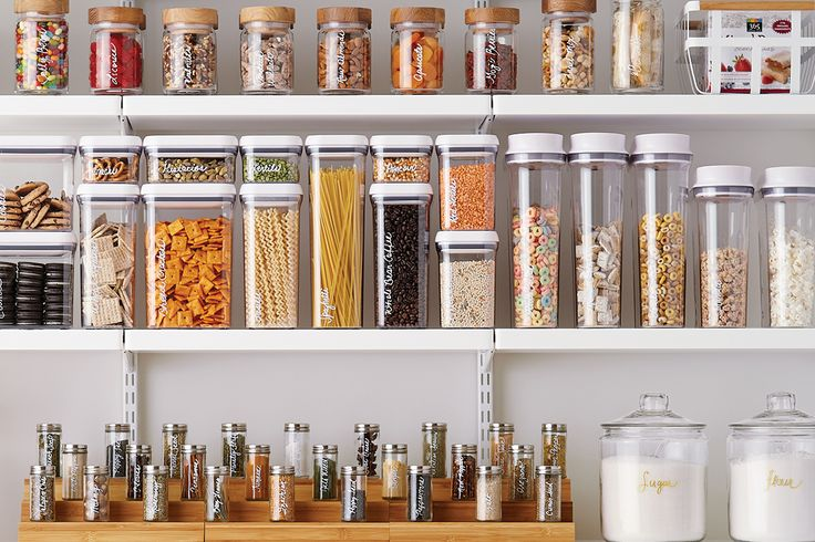 Container Stories: Kitchen Refresh: Pantry