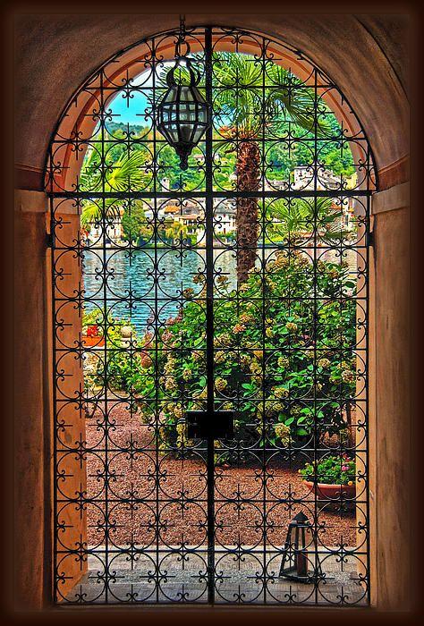 Wrought Iron Patio Doors : Best ideas about wrought iron doors on pinterest