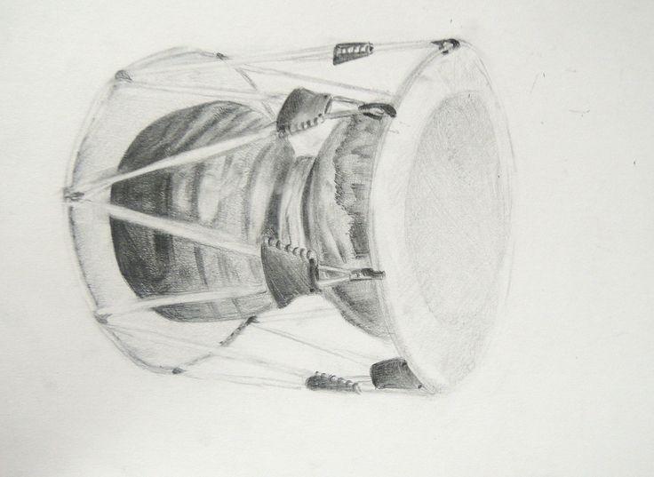Theme: Samulnori Group 5 Observational drawing2-장영주