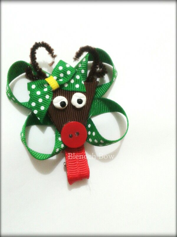 ... | My original handmade | Pinterest | Hair clips, Hair and Christmas