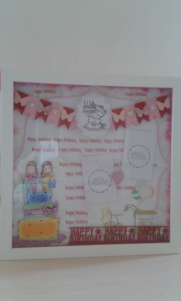 belongs to Naning 30x30cm birthday scrapbook