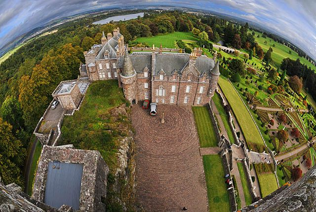 drummond castle - Google Search
