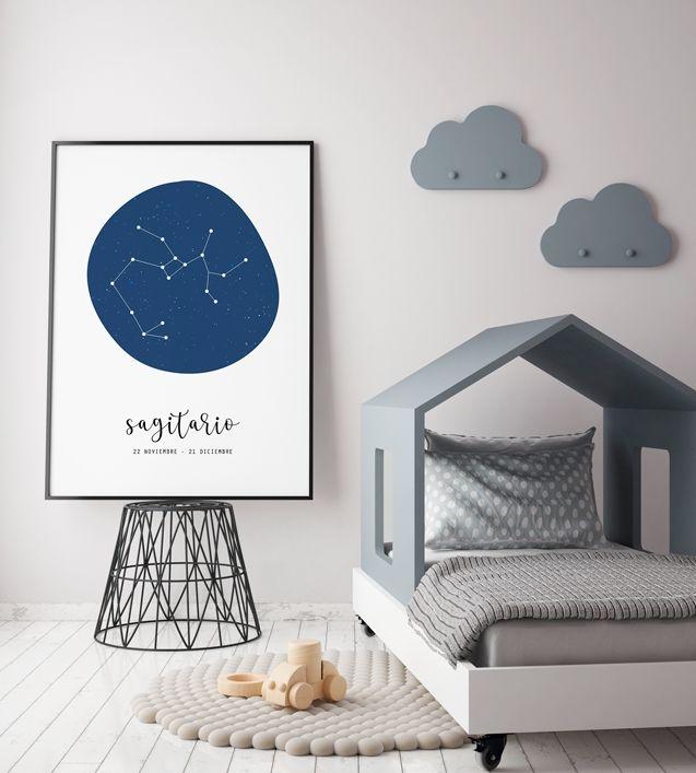 El universo en mi habitación infantil