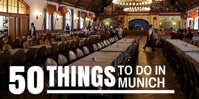 50 Things to Do in MUNICH