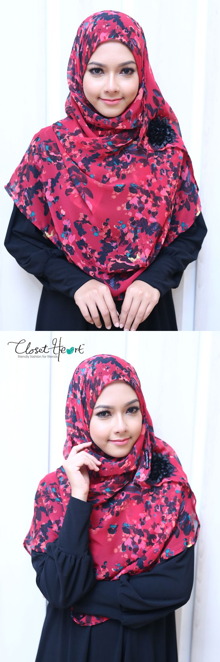 Model Hijab Closet Heart Facebook: Closet Heart Official Instagram: Closet Heart