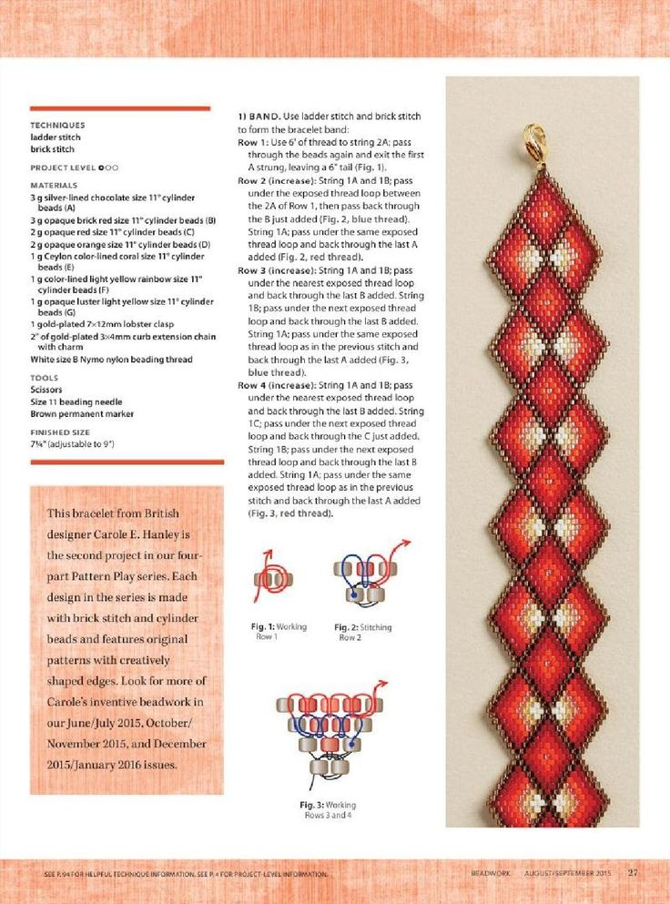 ISSUU - Beadwork Magazine Aug Sept 2015 by BeadworkBrasil