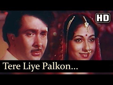 Tere Liye Palkon Ki Jhalar - Harjaee Songs - Randhir Kapoor - Tina Munim - Lata Mangeshkar - YouTube