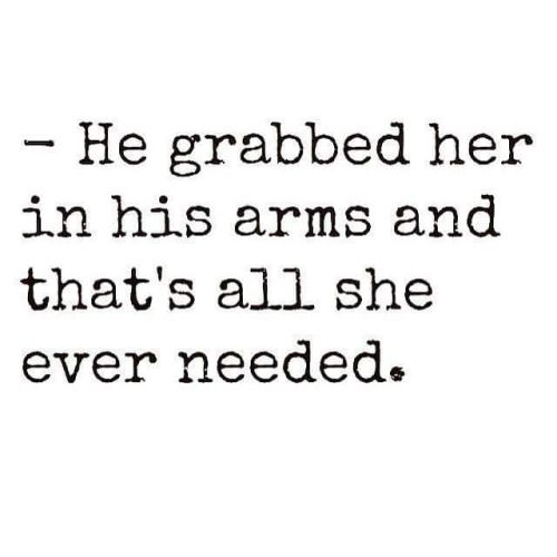 He did too.  All he wanted to do the first night we started talking again was come over and hug me. Because I needed it!