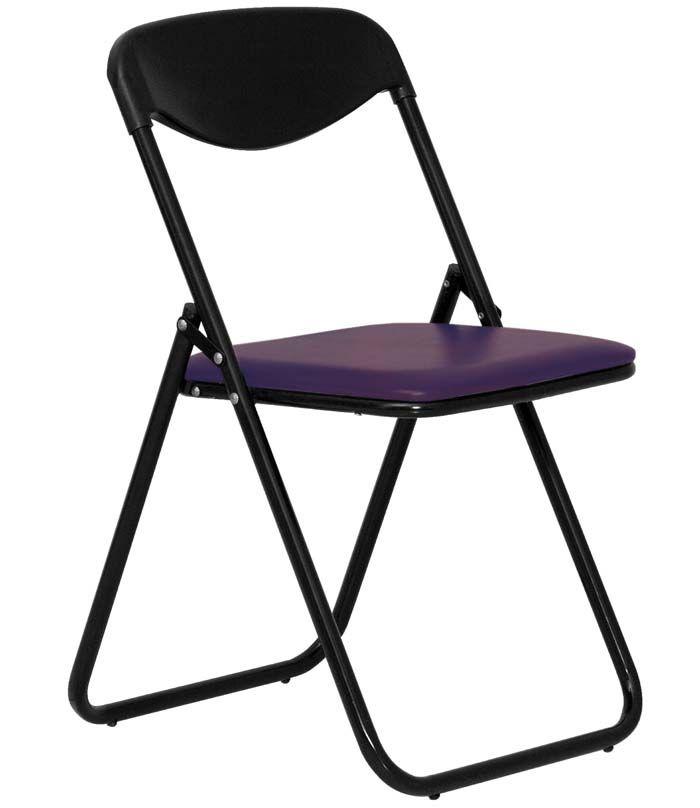 СТУЛ JACK BLACK фиолетовый