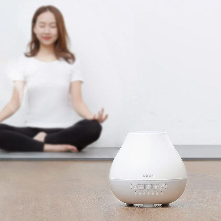 Original Xiaomi 200ml Smart Music Ultrasonic Humidifier Aromatherapy Essential Oli Aroma Diffuser at Banggood