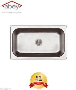 Abey  Top Mount Laundry Sinks  The Latrobe LT75 75 Litre Capacity