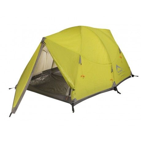 K-Way's Kilimanjaro is a two-person tent with an aerodynamic design. Weighing only 3.5 kg, the tent is ideal for weekend camping trips. Features include a flysheet made from ripstop nylon, no-see-um mosquito netting and reflective guy-ropes. A waterhead of 3000 mm ensures you'll stay warm, dry and protected, even in extreme conditions