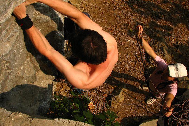 Rock climbing in Cat Ba, Vietnam! Beautiful place, beautiful adventure!
