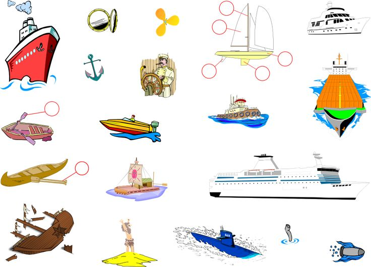 Sea Travel - English Vocabulary - IWB activity.